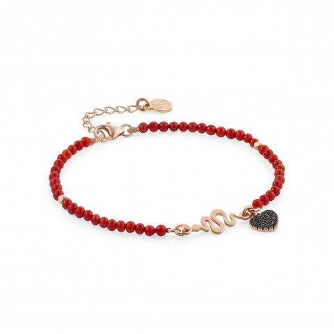 Bracelet_Antibes_avec_serpent_et_pendentif_Bracelet_en_Argent_avec_pierres_colorées