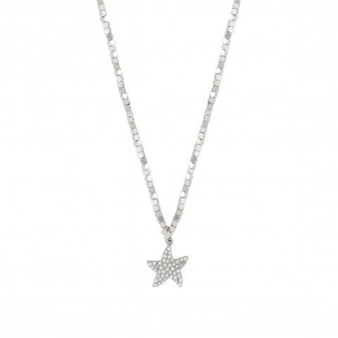 Antibes_Necklace_with_Starfish_Necklace_in_sterling_silver_with_pendants