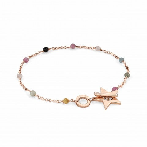 Mon_Amour_Star_and_Gemstones_Bracelet_Bracelet_with_rose_gold_plated_finishing
