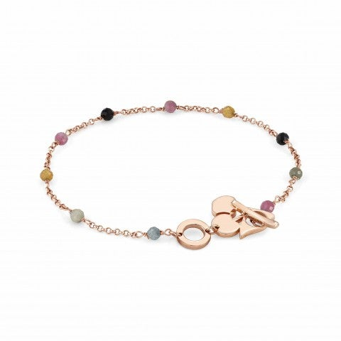 Mon_Amour_Cherry_and_Gemstones_Bracelet_Bracelet_with_rose_gold_plated_finishing