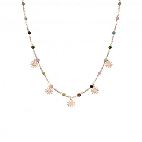 Short_Mon_Amour_Necklace_with_Flowers_Necklace_with_rose_gold_plated_finishing
