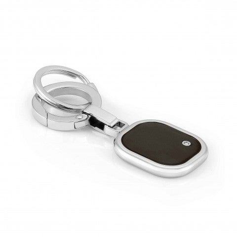 Gentleman_Key_Ring_with_Diamond_Accessory_in_stainless_steel