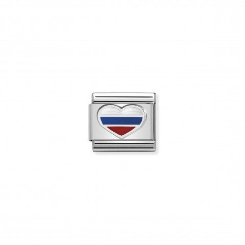 Composable_Classic_Link_Heart_with_Russian_Flag_Link_with_coloured_enamel