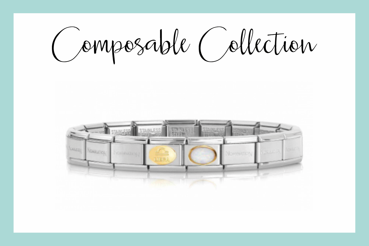 Classic Composable Libra Bracelet in gold