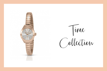 Time Collection Rose Gold Extension Watch