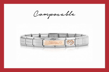 Composable Classic I love you Bracelet
