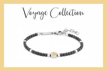 Voyage bracelet with anchor