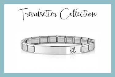 Trendsetter bracelets with anchor