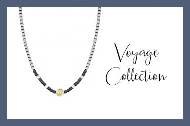 Voyage necklace with anchor