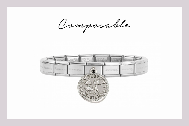 Classic Composable Bracelet best sister pendant