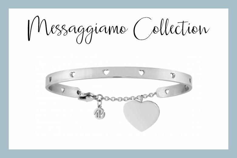 Messaggiamo bracelet with heart pendant