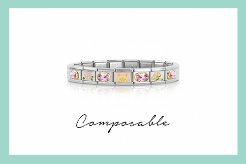 Composable Classic Bracelet La Vie en Rose Cat