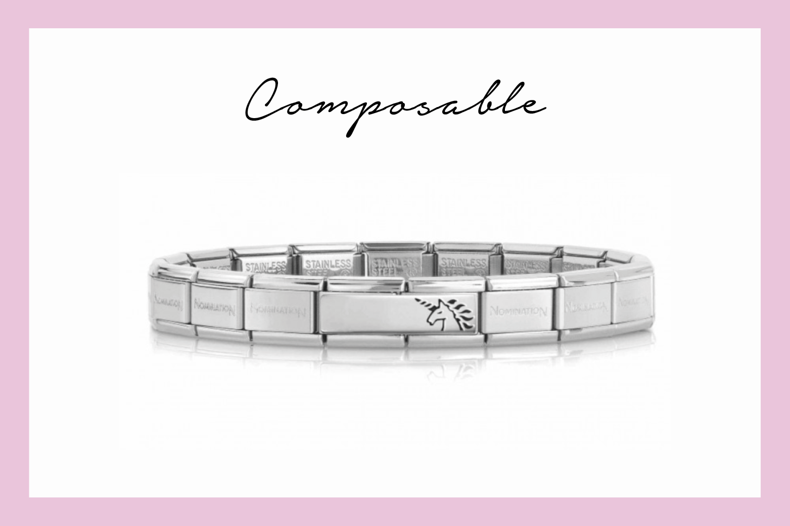 Composable Classic Unicorn Bracelet