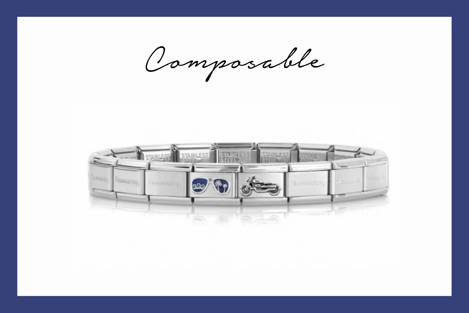 Composable Classic Motorcycle Bracelet