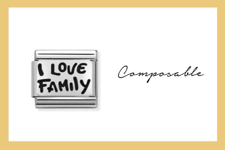 Composable Classic Link I love family