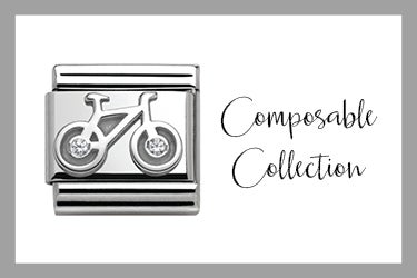 Classic Link Bycicle Silver and Stone