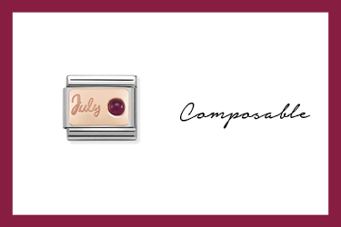 Composable Classic Link in Rosagold Juli