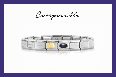Classic Composable Virgo Bracelet in gold