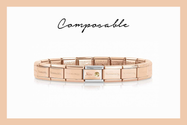 Classic Composable Bracelet with November Birthstone
