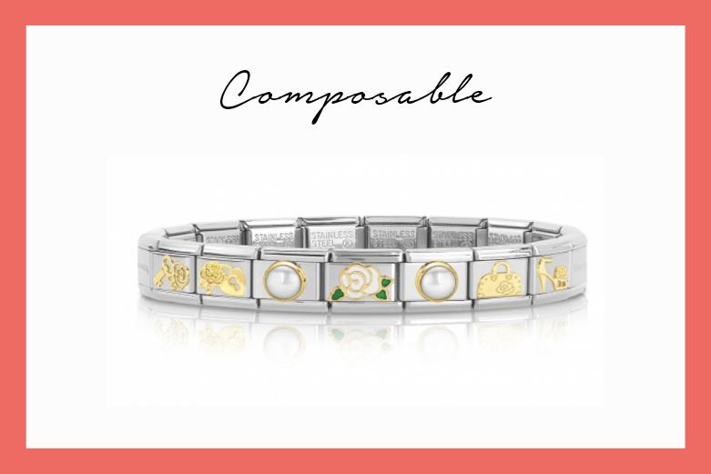 Composable Bracelet La vie en rose