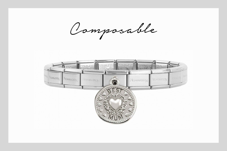 Pulsera Composable Best Mum