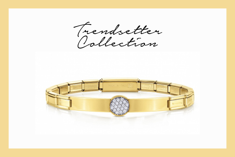 Trendsetter Bracelet with Glitter
