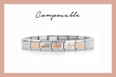 Composable Classic Bracelet My Angel rose gold