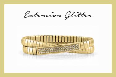 Extension Glitter Double Bracelet