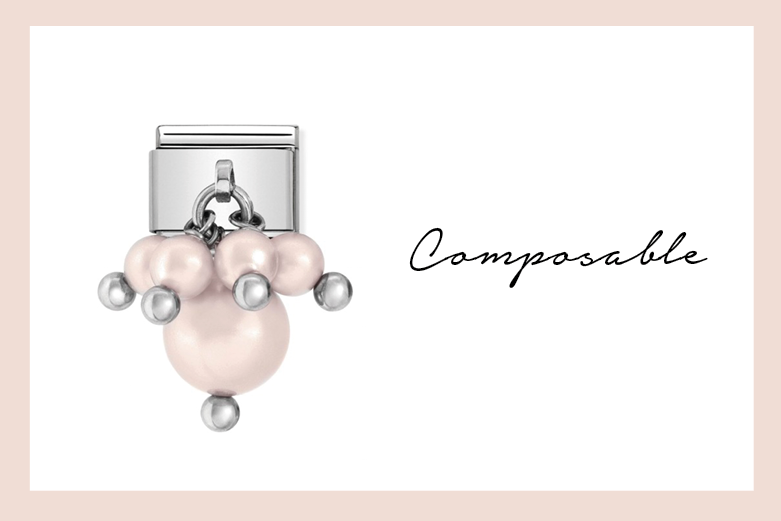 Pastel rose pearls