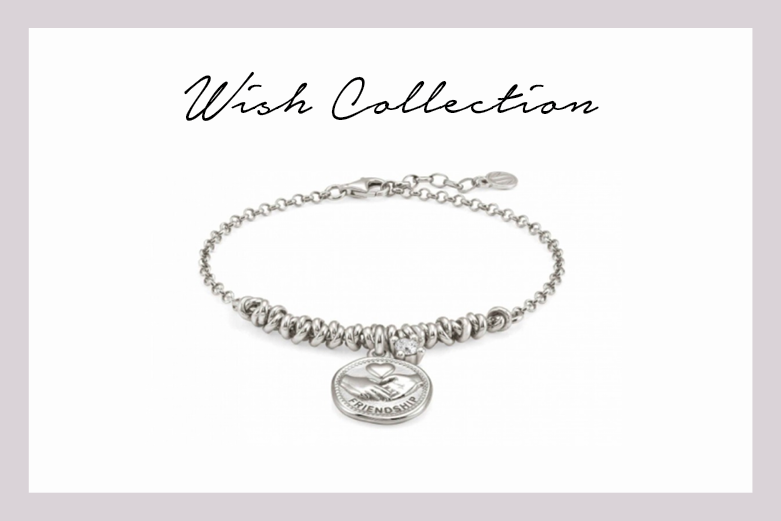 Wishes Bracelet with friendship pendant