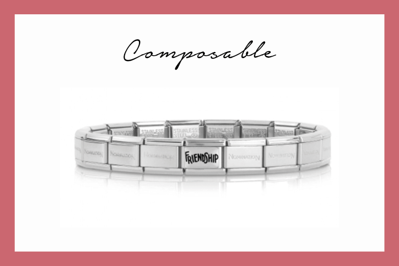 Composable classic bracelet with friendship