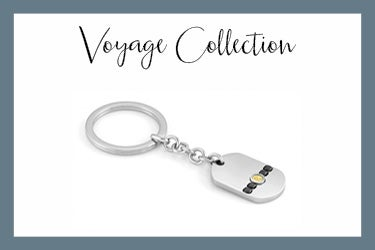 Voyage Keychain with Marlin Simbol