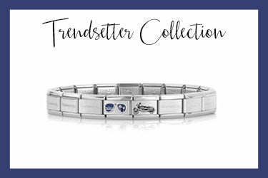 Composable Classic Bracelet with motorcycle