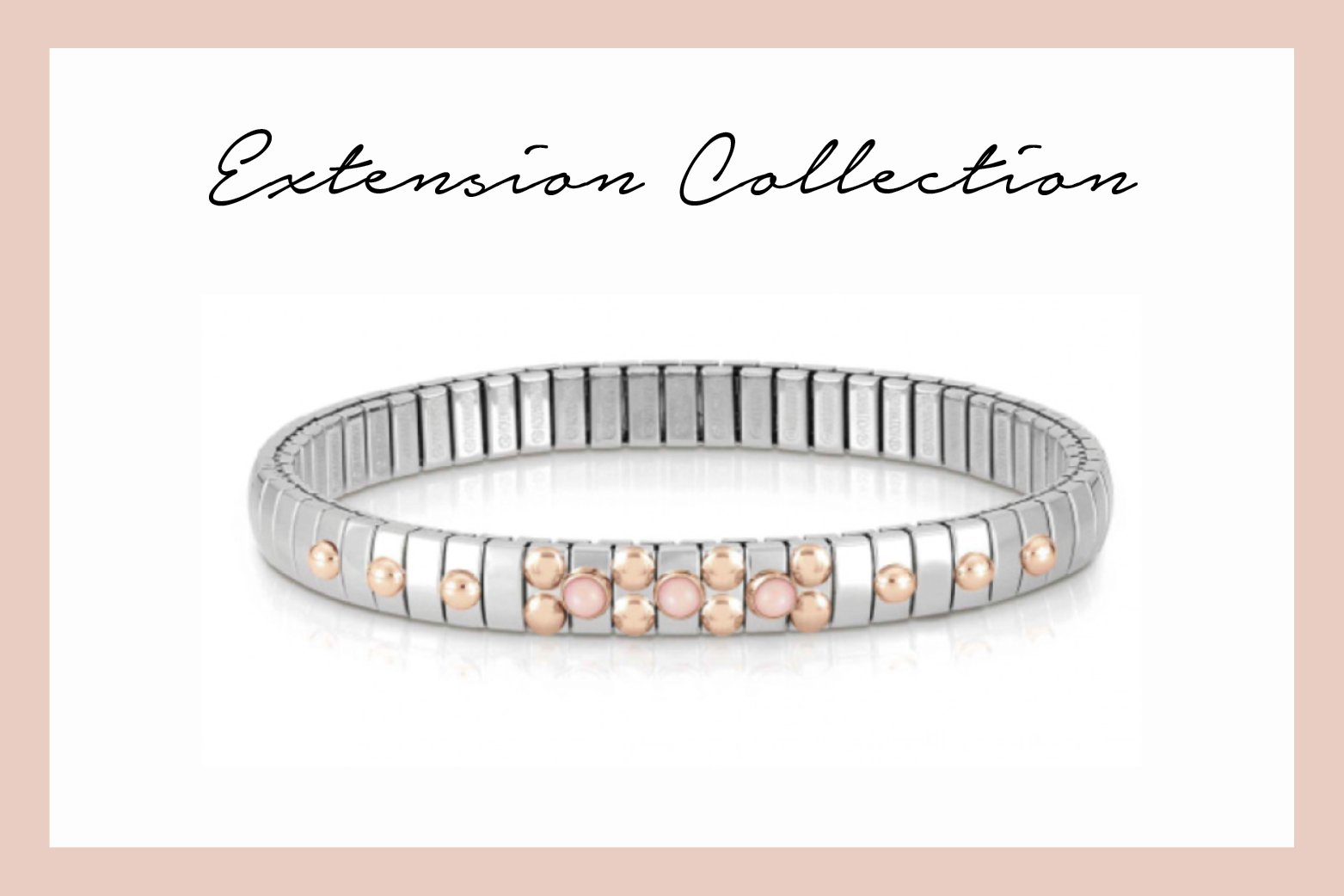 Extension Bracelet with natural stones