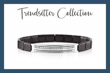 Trendsetter Bracelet with two engraved ropes