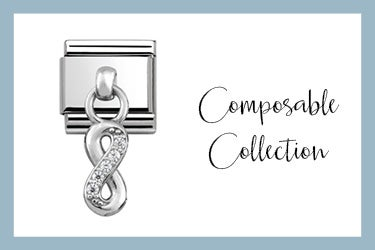 Composable Classic Link Silver Pendant Infinity
