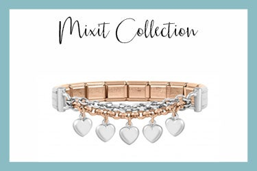 Special Edition Mixit Bracelet with hearts