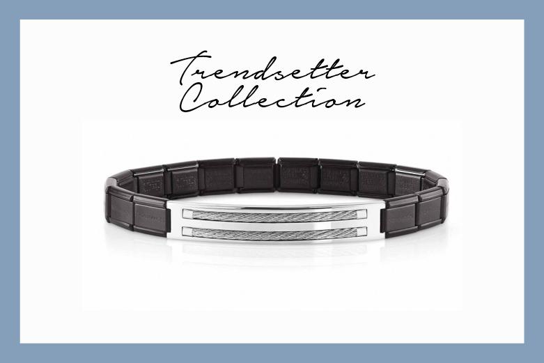 Trendsetter stainless steel bracelet