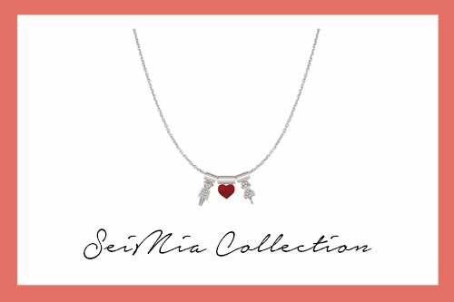 SeiMIa Necklace with Him&Her Heart