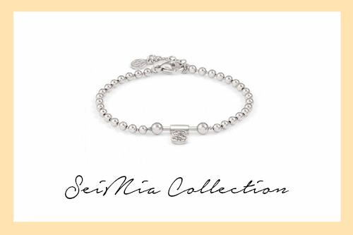 SeiMIa Bracelet with letter S