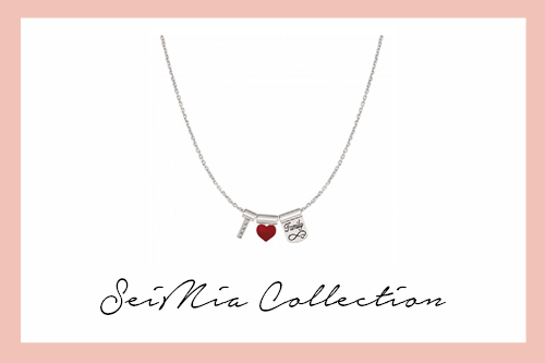 SeiMIa I love My Family Necklace